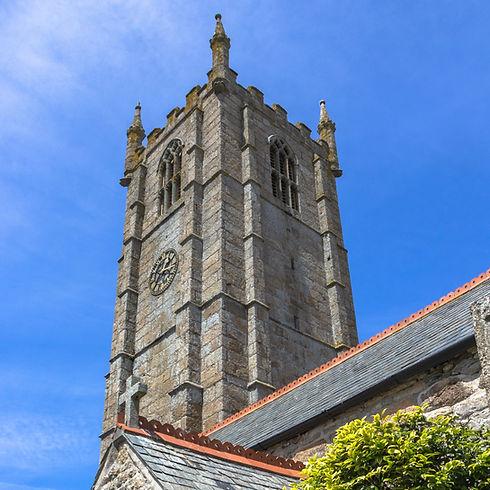 St Ia, St Ives Parish Church Tower
