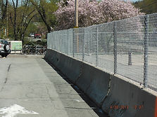Jersey Barrier Temp Fence Boston
