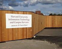 Solid Board Wood Fence Massachusetts