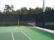 Tennis Court Fence w Screen