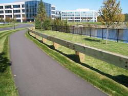 Wood Guardrail
