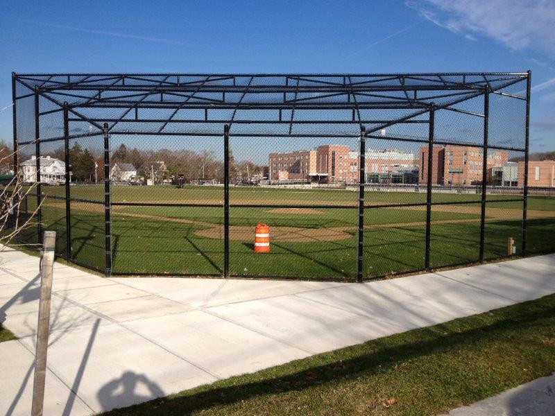Backstop at Newton North H.S.