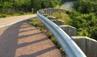 Roadway Guardrail