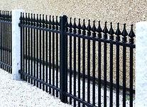 Ornamental Fence Scroll Top