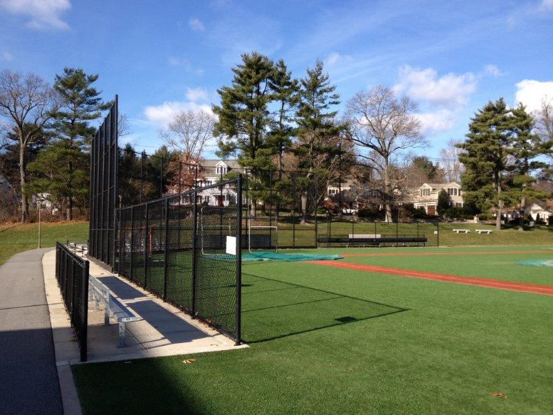 Backstop at St. Sebastians