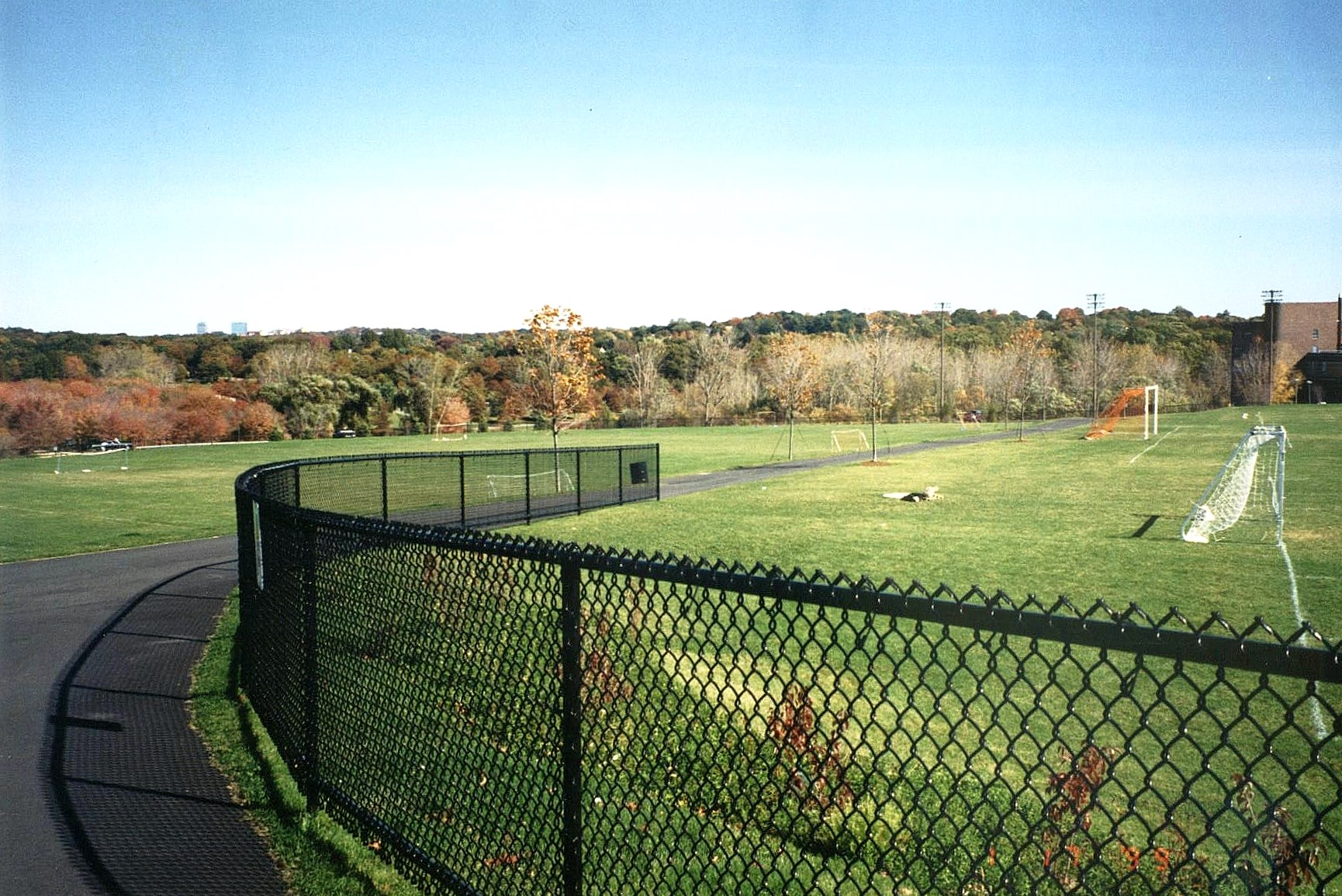 Typical Ball Field Fence