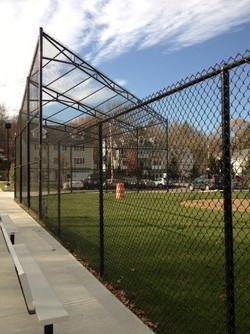 Backstop at Newton North H.S.
