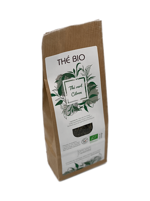 Thé vert Bio -Citron