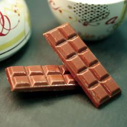 Chocolat noir ou au lait sans sucre