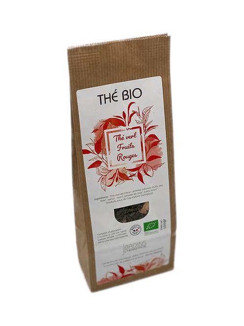 Thé vert Bio - Fruits rouges