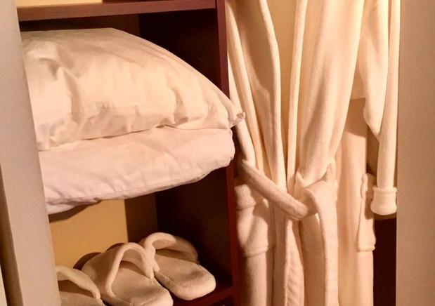 Bath Robes & Slippers