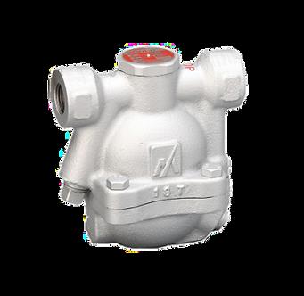Trampa de vapor tipo flotador con venteo termostático