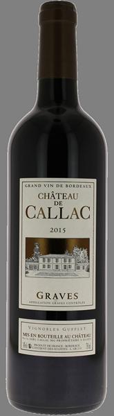 Chateau de Callac Graves 2015