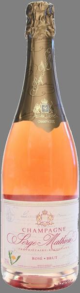 Champagne Brut Rose Serge Mathieu 2017