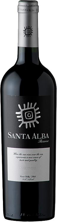 Carmenere Reserva Santa Alba Vina Requingua 2015