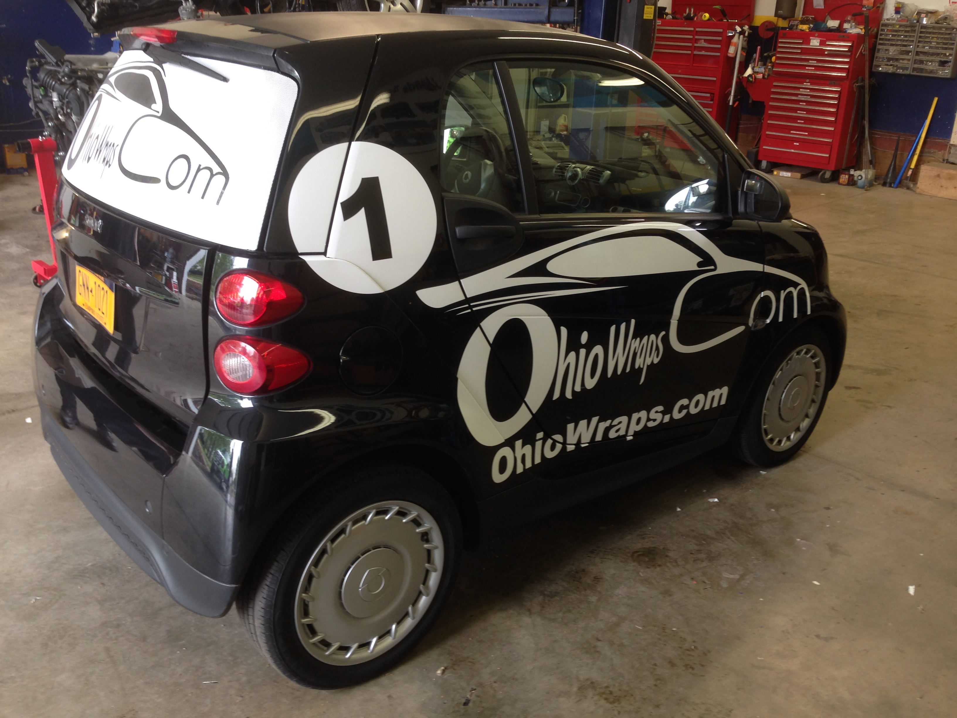 Smart Car Wrap Canton Ohio