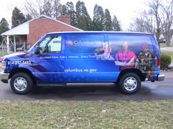 Van wrap Columbus Ohio