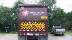 Dump Truck Wrap Dover Ohio