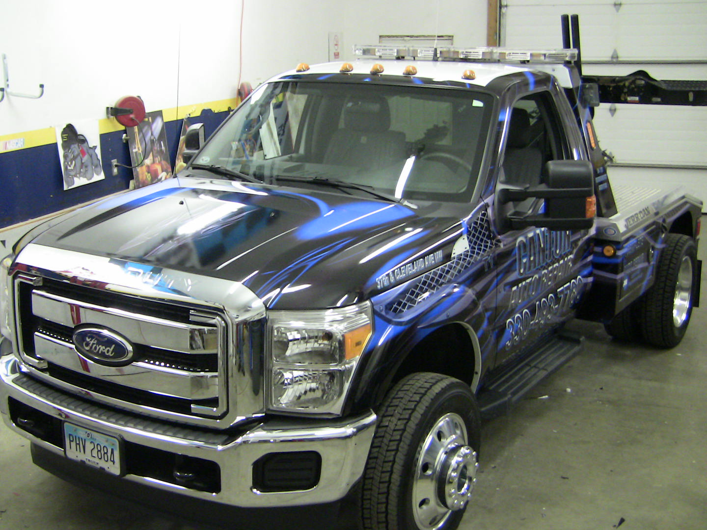 Truck Wrap Columbus Ohio