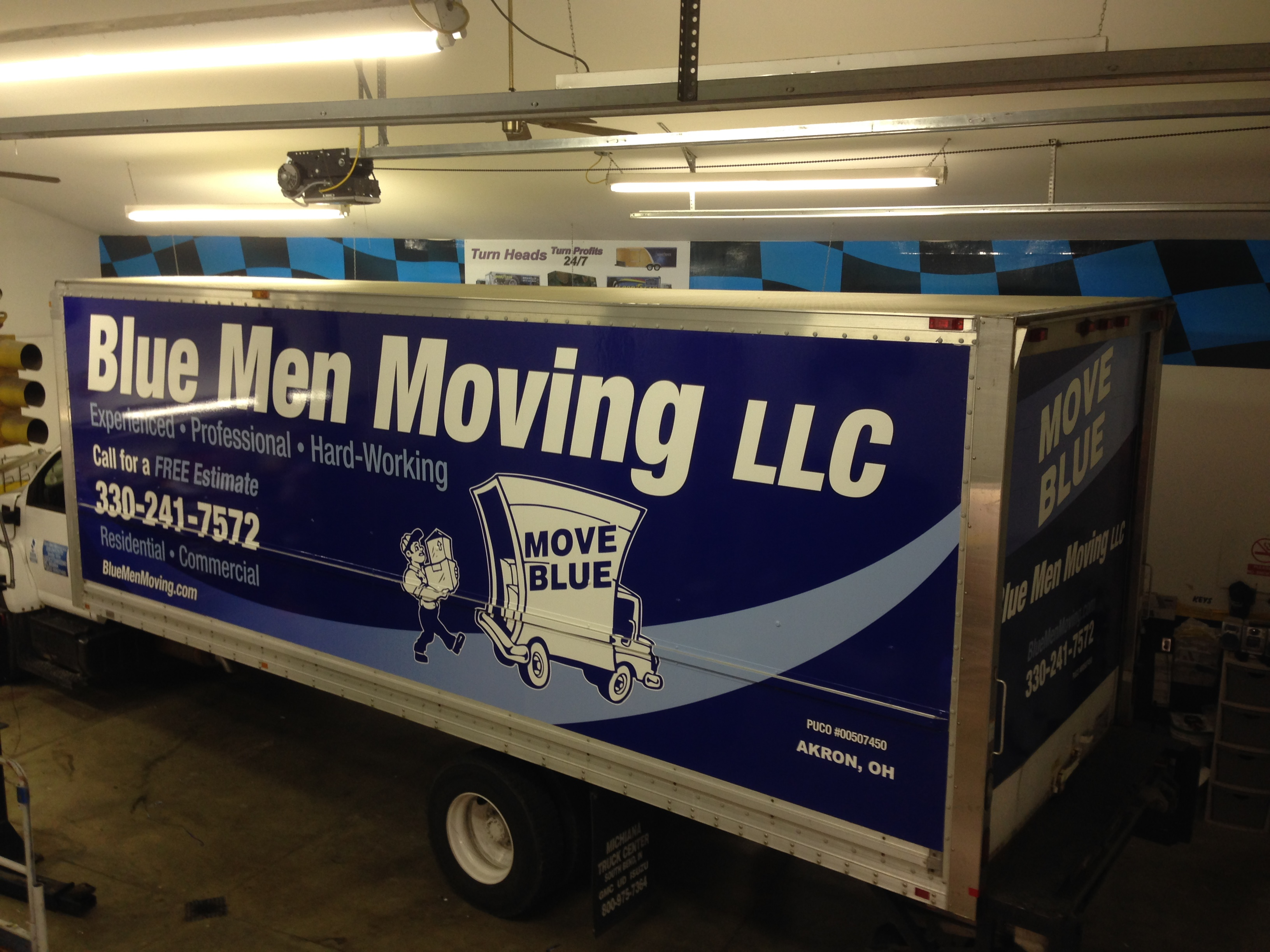Box Truck Trailer Wrap Columbus Ohio
