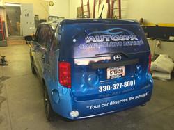 SUV Wrap Toledo Ohio