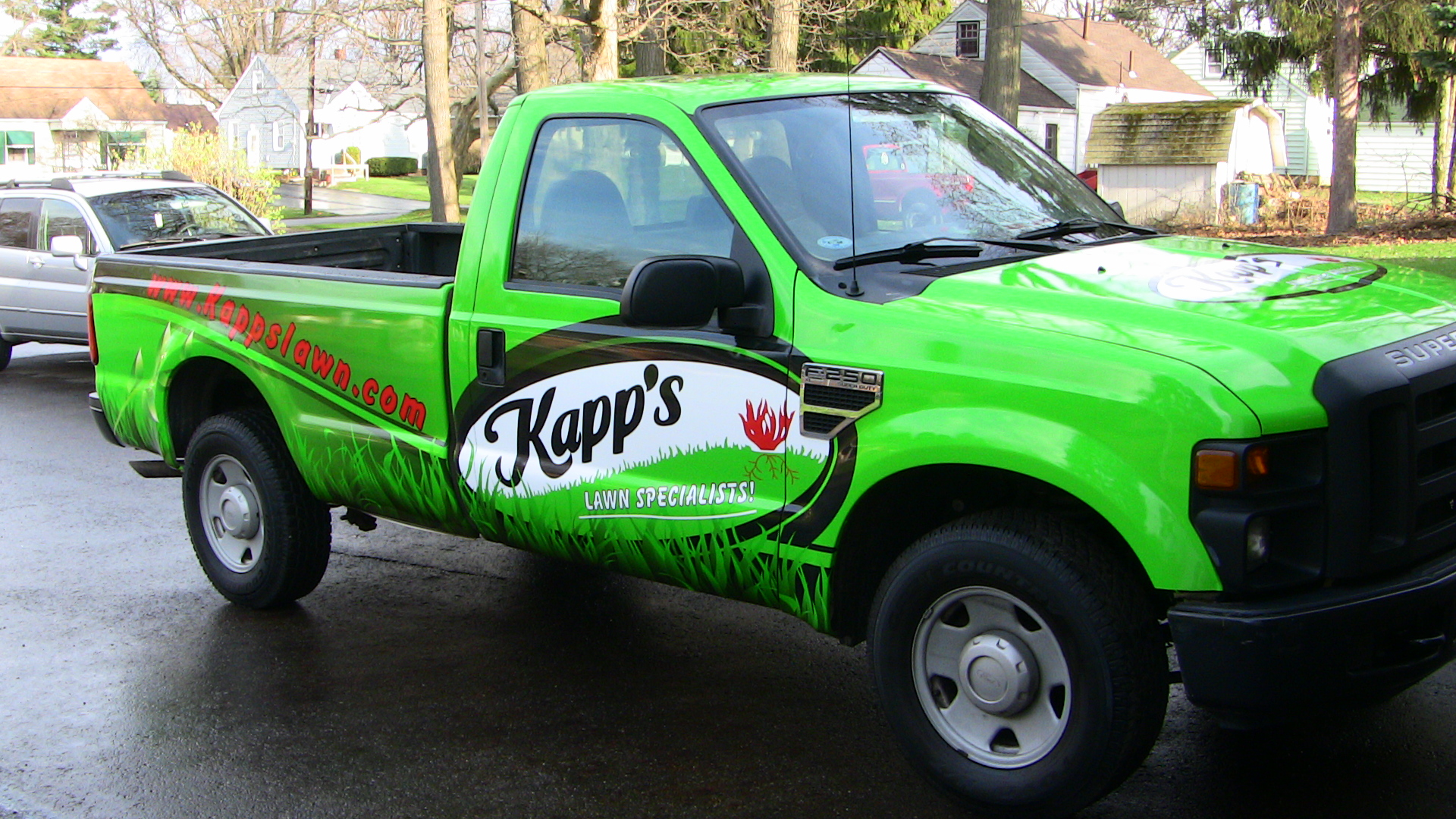 Truck Wrap Athens Ohio