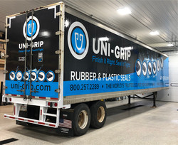 Uni Grip trailer Wrap