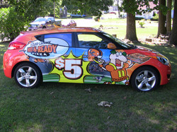 Car Wrap Paris Ohio
