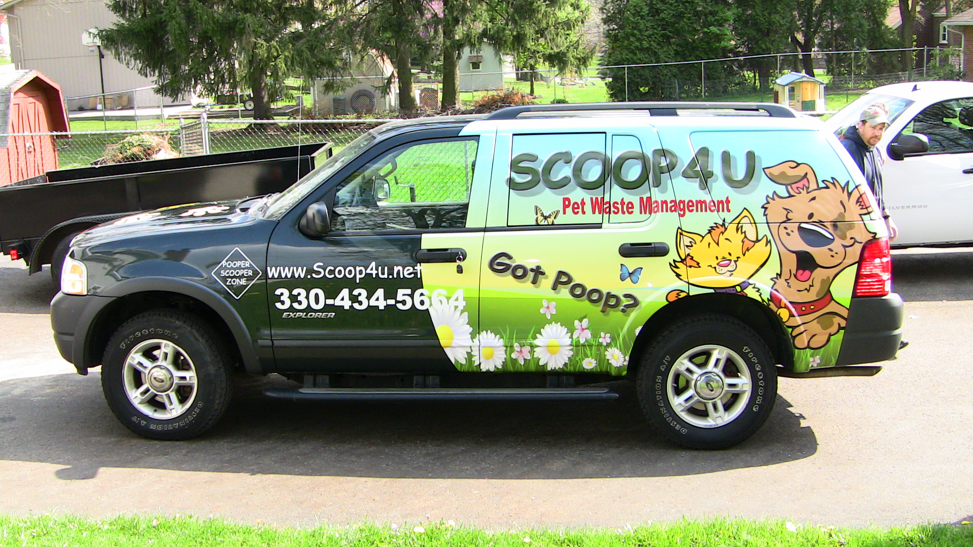 SUV Wrap Bolivar Ohio