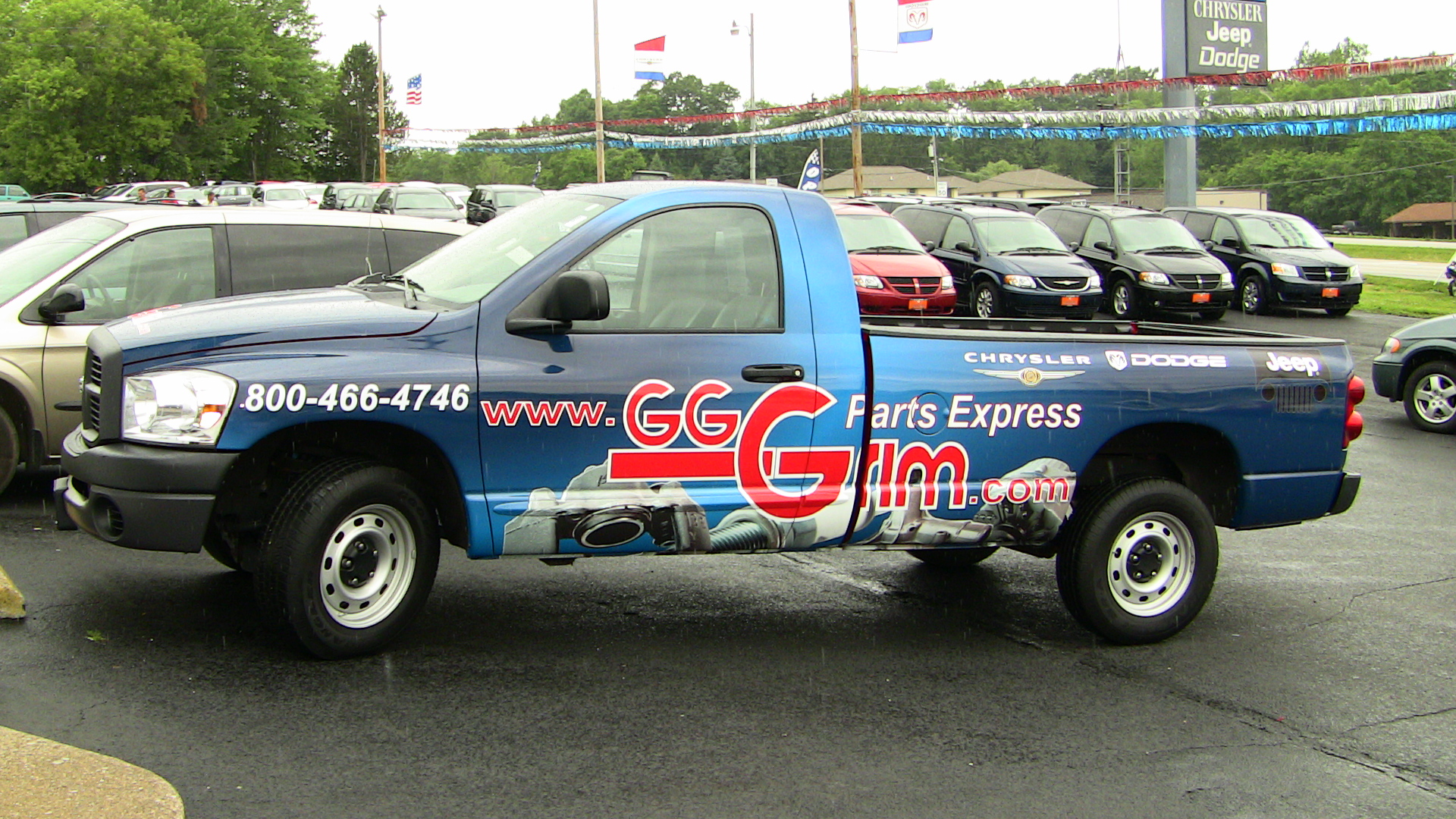Truck Wrap Akron Ohio