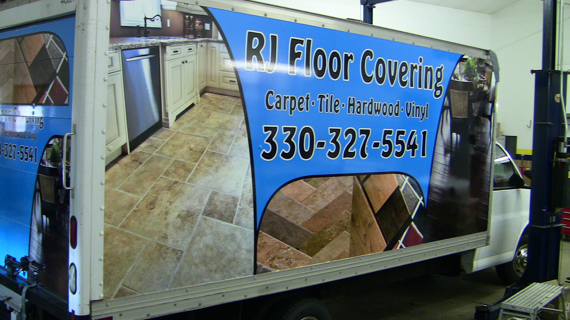 Box Truck Trailer Wrap Stark County