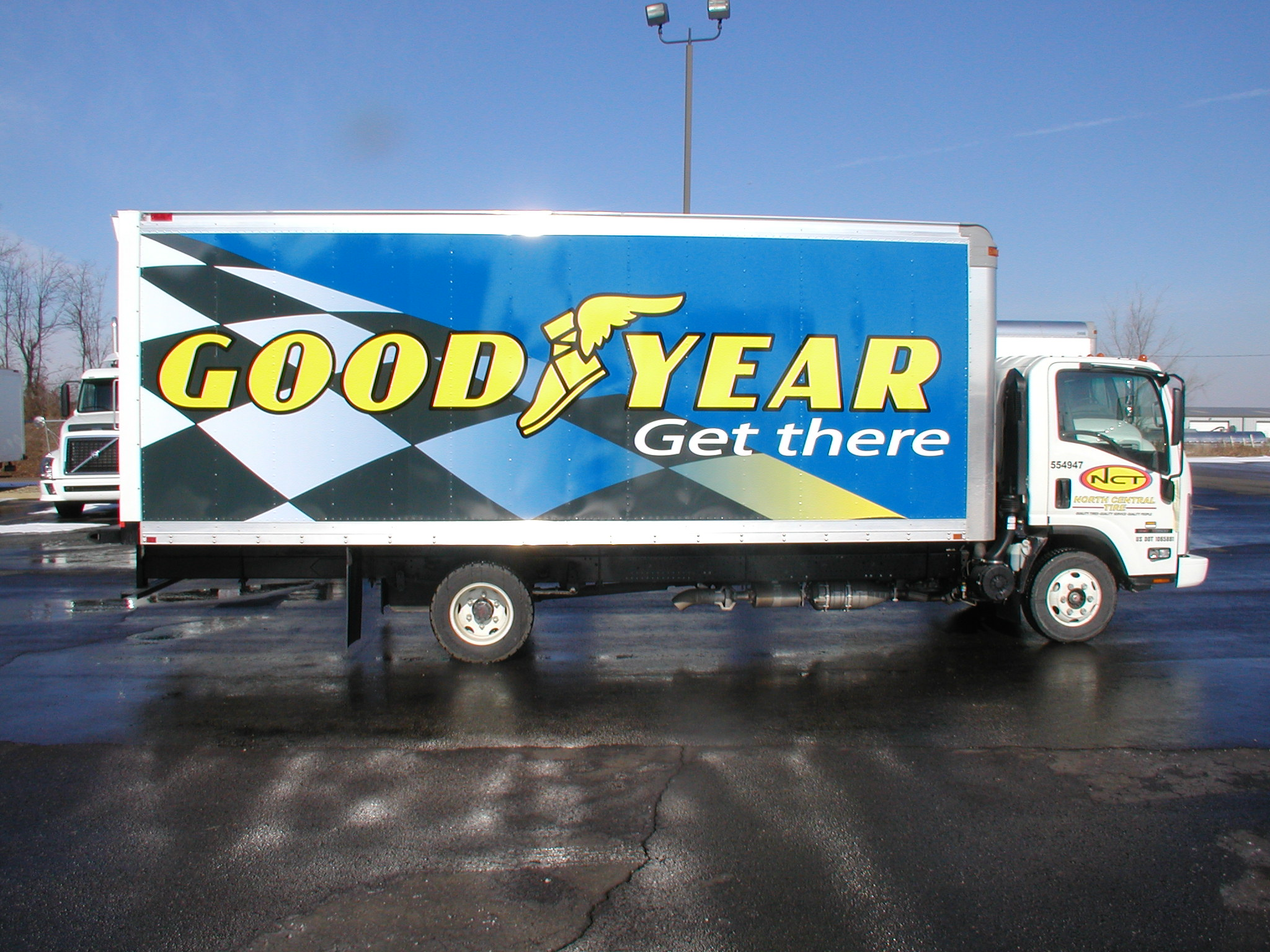 Truck Trailer Wrap Youngstown Ohio
