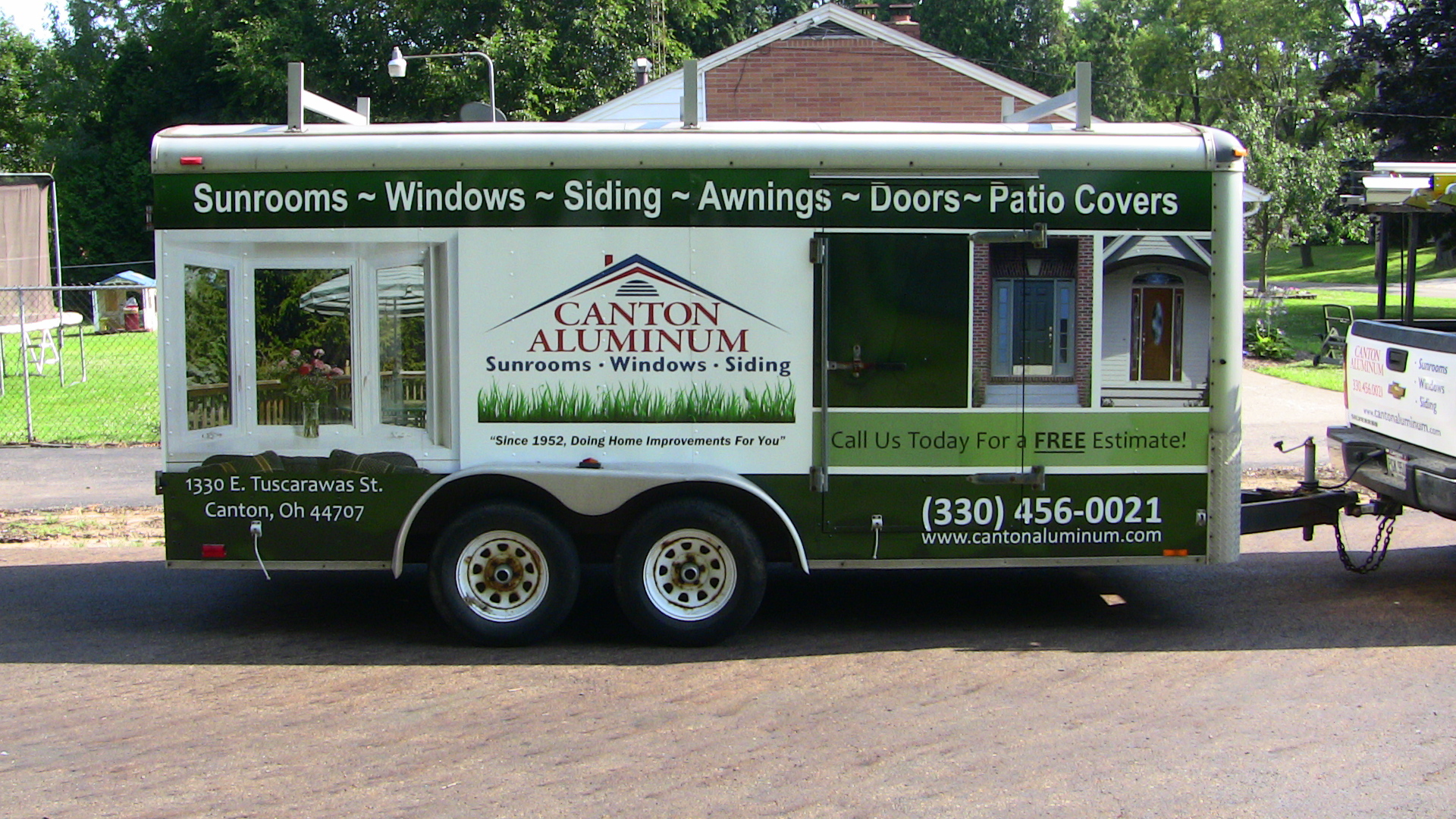 Trailer Wrap Canton Ohio