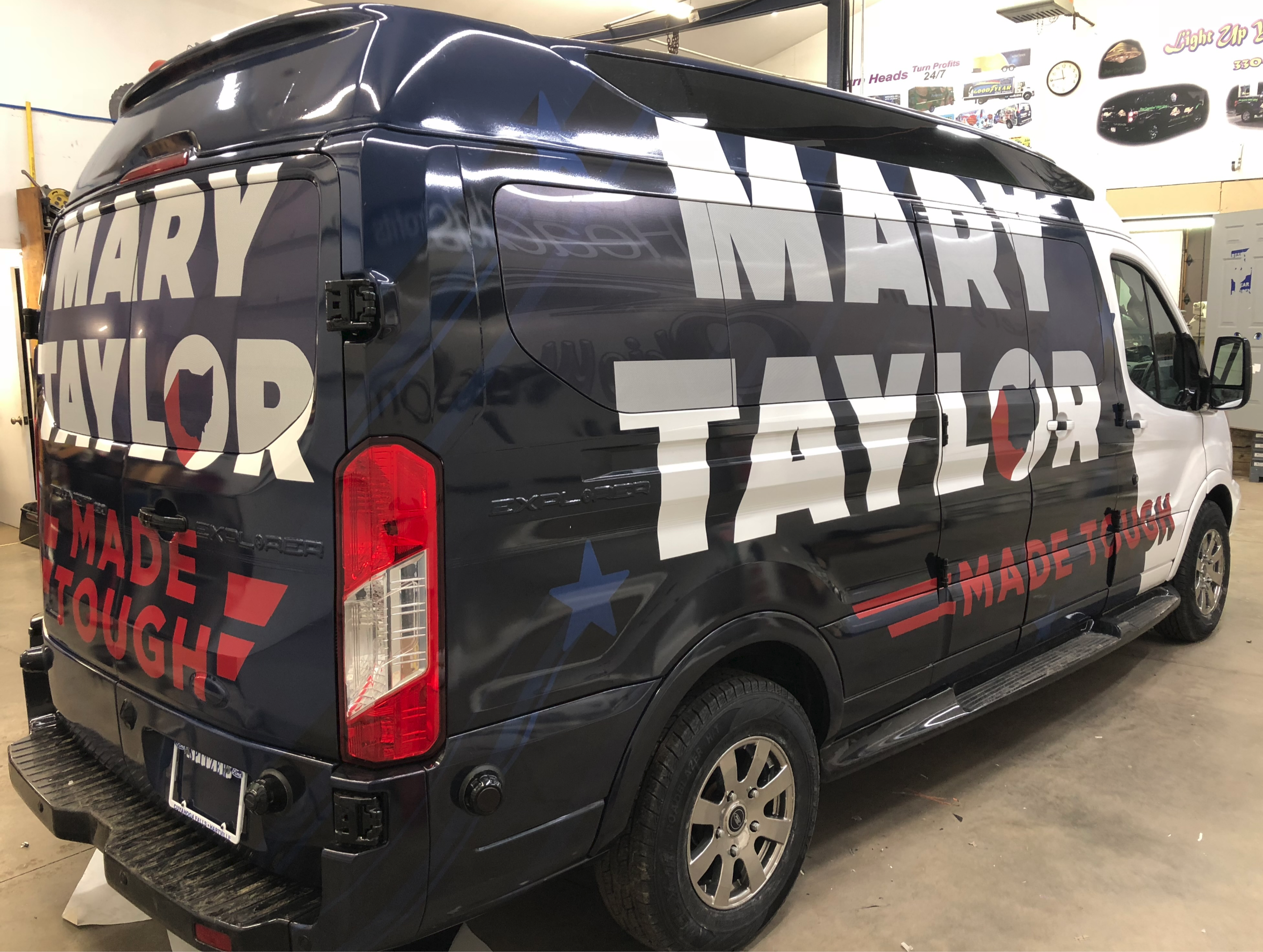 Van Wrap Akron Ohio