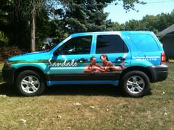 SUV Wrap Canton Ohio