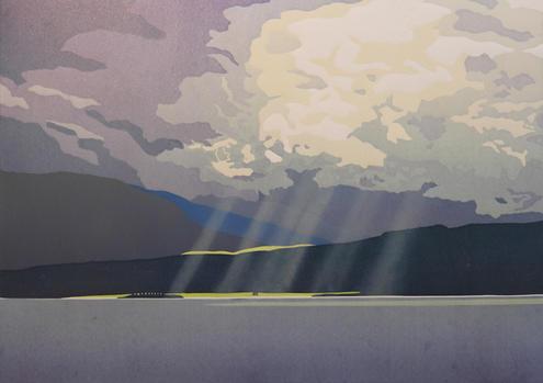 the last rays of summer - Loch Linnhe