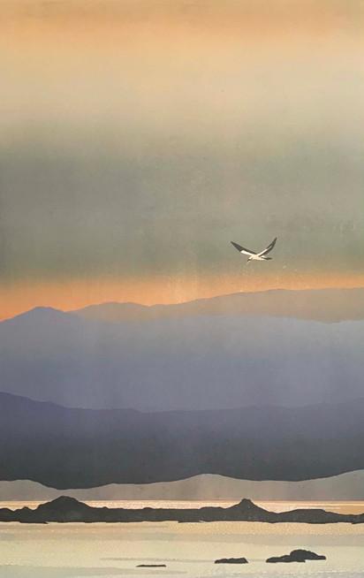 daybreak over Ayrshire