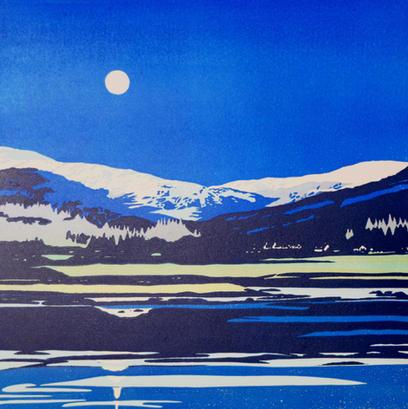 moonlight on Holy Loch