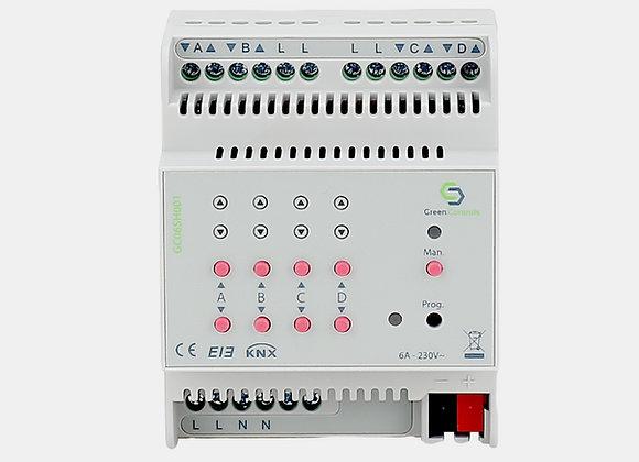 Shutter Actuator, 4 channels, 6A