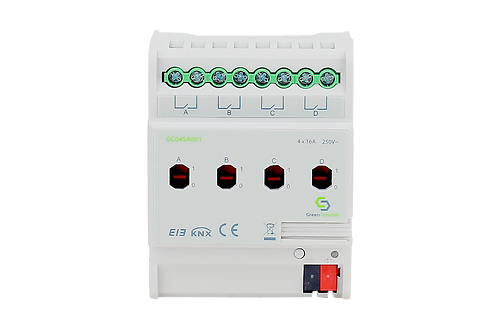 KNX Switching Actuator, 4 channels, 16A