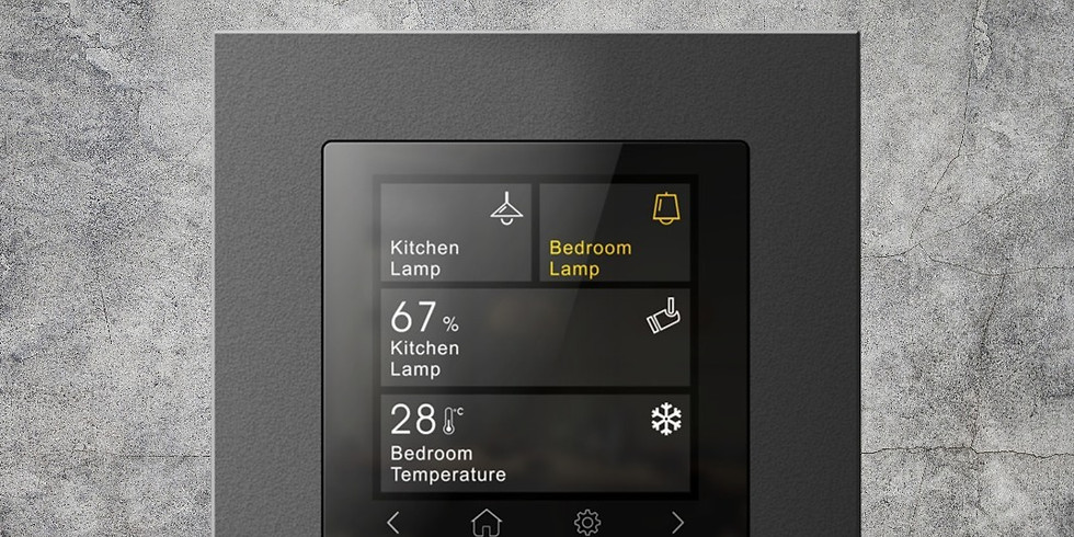 KNX Product Training: Mini Touch Panel 2,6 inches