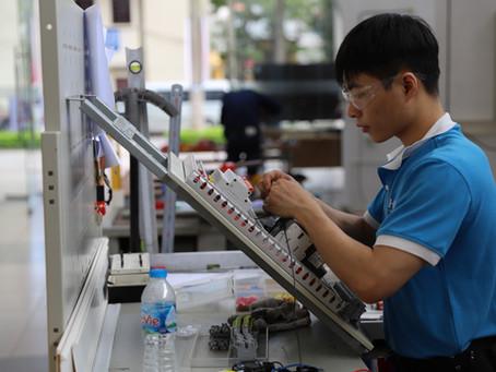 Kỳ thi Kỹ năng nghề Việt Nam 2020: giải pháp smarthome với  #KNX