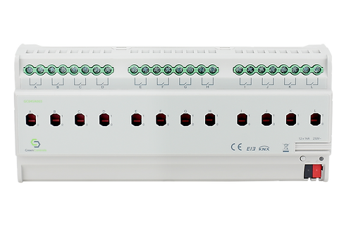 KNX Switching Actuator, 12 channels, 16A