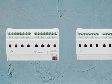 GreenControls-KNX Switching Actuator, 16A: Thiết bị KNX điều khiển đóng/cắt đa năng