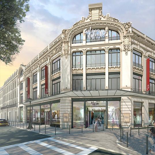 Aménagement Galeries Lafayette Beziers