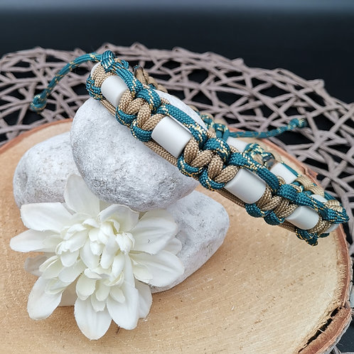 EM-Keramik Halsband Kobra