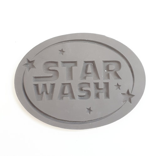 Label (Reliefform) Star wash