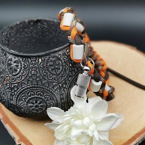 EM-Keramik Halsband Zopf