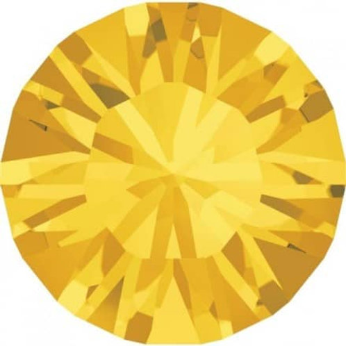 Swarovski®Kristalle Chatons light topaz