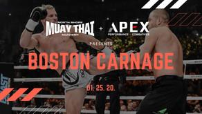 Boston Carnage - 01.25.20